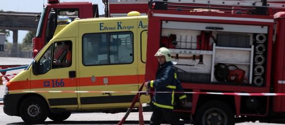 πυροσβεστικό και ασθενοφόρο