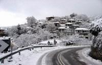 Χιονόπτωση το βράδυ στο Πήλιο σύμφωνα με τις προγνώσεις