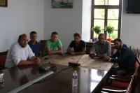 Αντιπροσωπεία του Ποταμιού Μαγνησίας στο Δημαρχείο Ζαγοράς- Μουρεσίου
