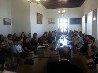 Επίσκεψη φοιτητών του τμήματος Μηχανικών Ποδεοδομίας στο Δήμο Ζαγοράς-Μουρεσίου