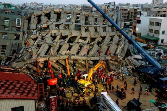 TAIWAN EARTHQUAKE AFTERMATH