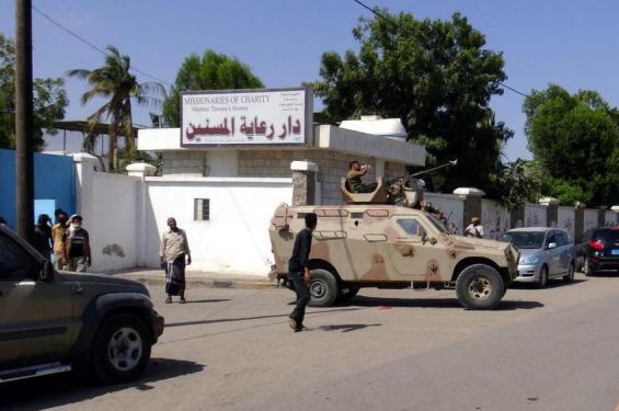 Gunmen attack an elderly care home in Yemen