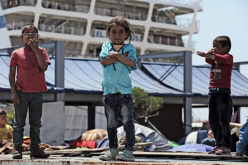 Refugees and migrants situation in Piraeus