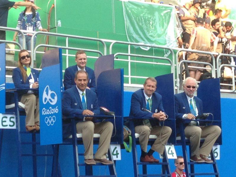 Στο Ρίο μαζί με τους υπόλοιπους κριτές