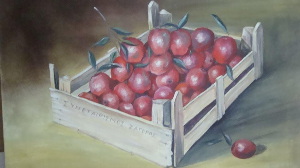 Μέχρι τις 15 Νοεμβρίου η έκθεση ζωγραφικής του Γιάννη Μηλιώνη στον Βόλο
