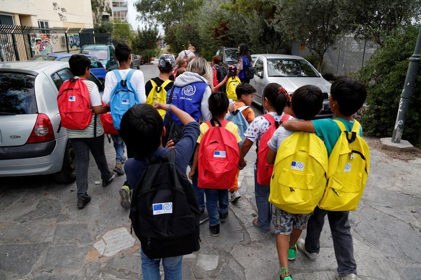 100 προσφυγόπουλα θα φοιτήσουν φέτος στα σχολεία της Μαγνησίας