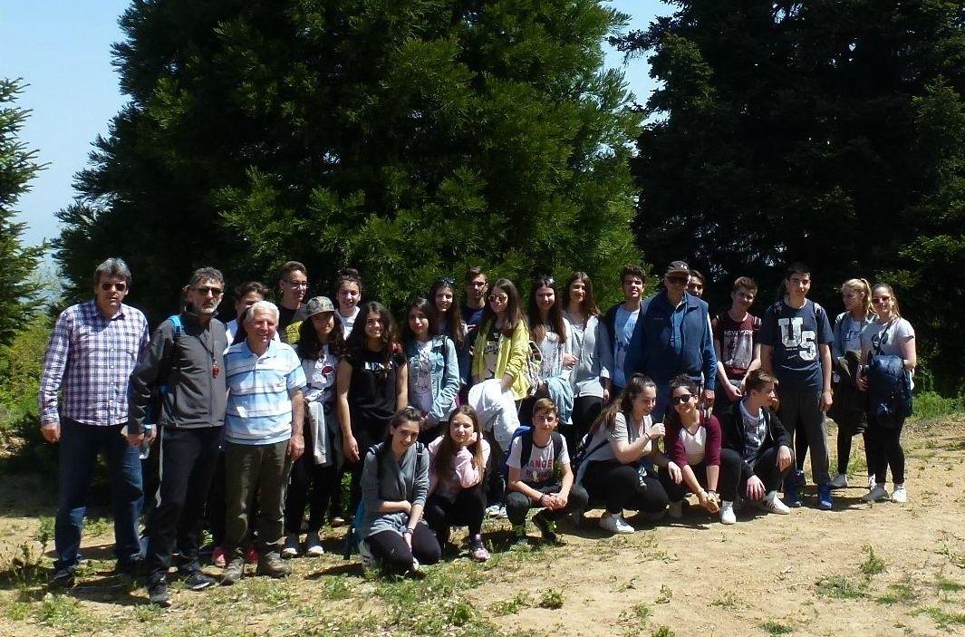 Εκπαιδευτική επίσκεψη μαθητών από τη Λαμία στην Όθρυ