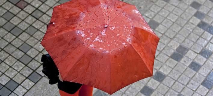 Βροχοπτώσεις το βράδυ στη Μαγνησία