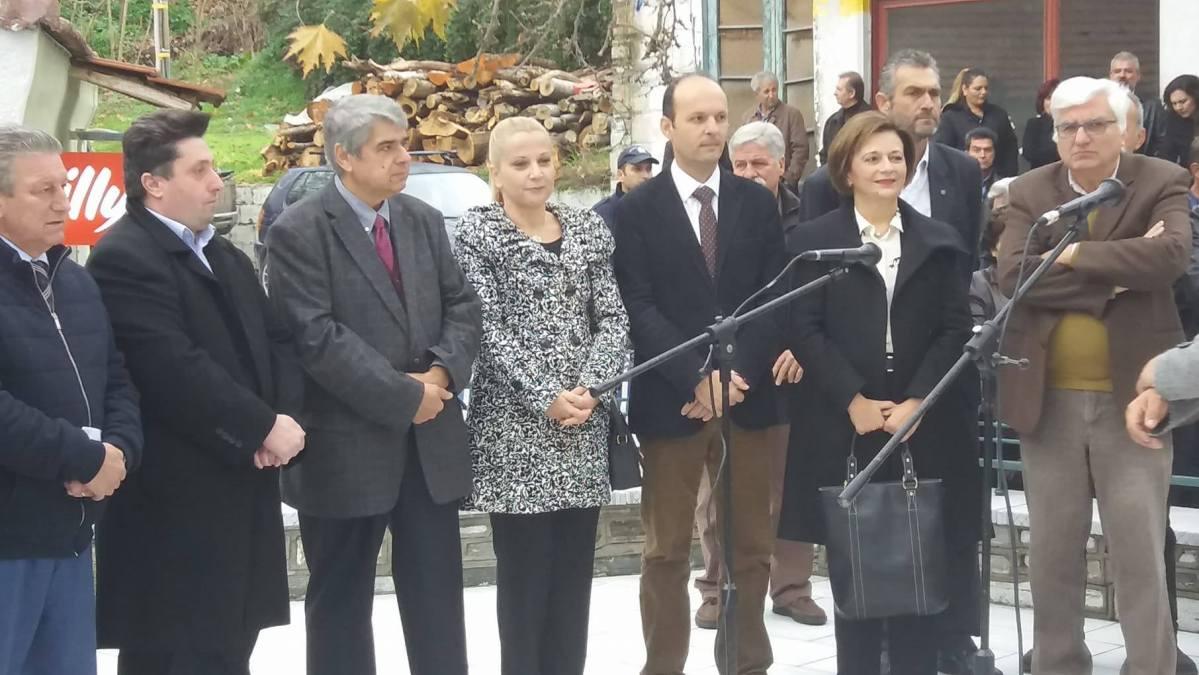 Τιμή στα θύματα της ναζιστικής θηριωδίας στη Δράκεια