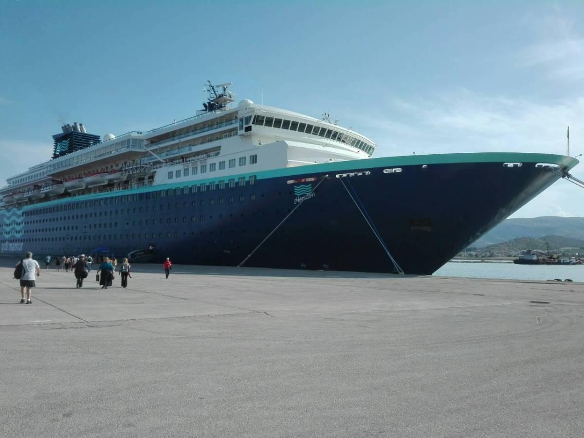 Το κρουαζιερόπλοιο Horizon αύριο στο λιμάνι του Βόλου