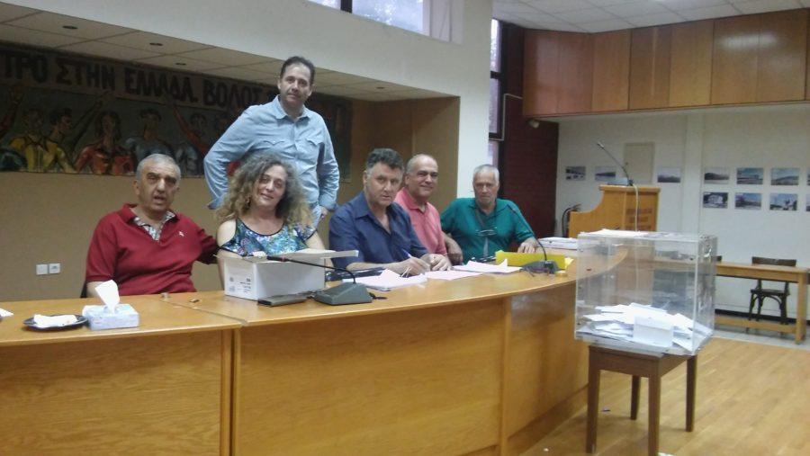 Εκλέχτηκαν χθες οι συντονιστικέςγραμματείες του ΚΙΝΑΛ στη Μαγνησία