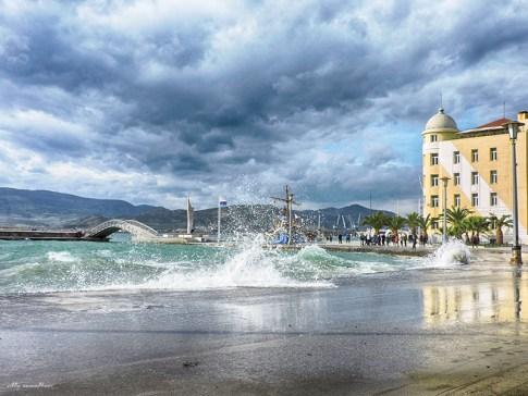 Ισχυροί άνεμοι και νέα πτώση της θερμοκρασίας αύριο στη Μαγνησία