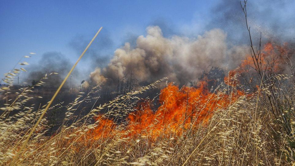 Μεσαίας κλίμακας ο κίνδυνος για πυρκαγιές σήμερα στη Μαγνησία (χάρτης)
