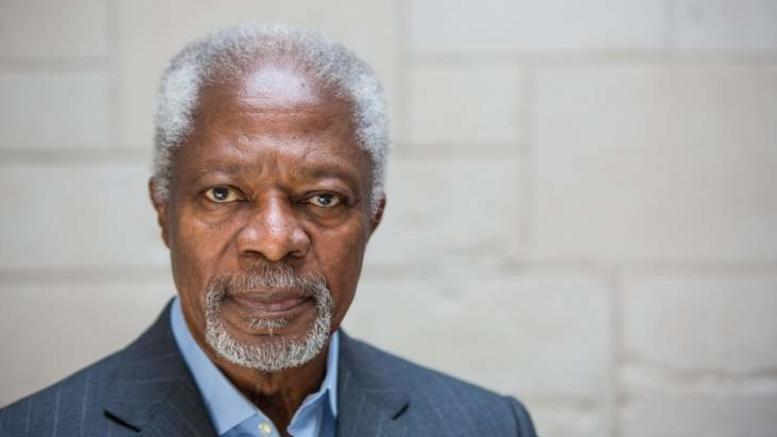 Πέθανε ο πρώην Γ.Γ. του ΟΗΕ Κόφι Ανάν σε ηλικία 80 ετών