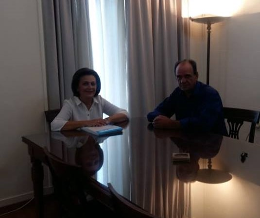 Συνάντηση Χρυσοβελώνη – Κουτσάφτη στο υπουργείο Εσωτερικών