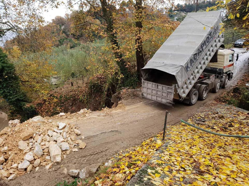 Αποκαθίσταται η ζημιά στον δρόμο Ζαγοράς-Πουρίου –Παραδίδεται σήμερα το δεύτερο ρεύμα κυκλοφορίας