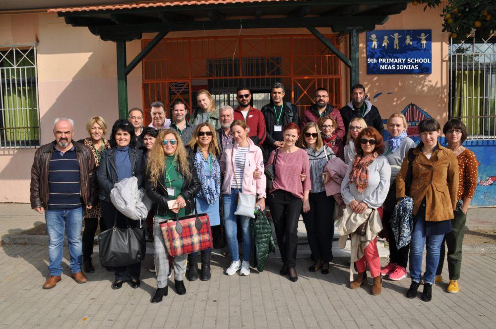 Εκπαιδευτικοί από την Ευρώπη επισκέφθηκαν τη Μαγνησία μέσω του προγράμματος ERASMUS+
