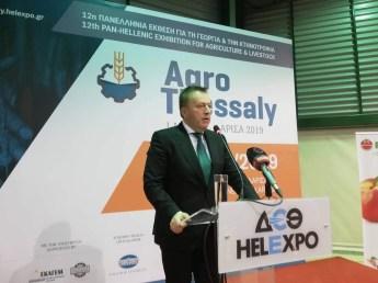 Υφυπουργός Αγροτικής Ανάπτυξης και Τροφίμων, κ. Βασίλης Κόκκαλης
