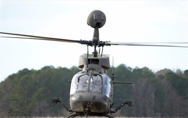 Στο λιμάνι του Βόλου τα Kiowa Warrior για την Αεροπορία Στρατού