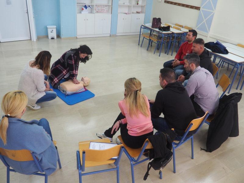 Σεμινάριο βασικής υποστήριξης της ζωής στον Δήμο Αλμυρού – Έλαβαν πιστοποίηση 25 κάτοικοι της περιοχής