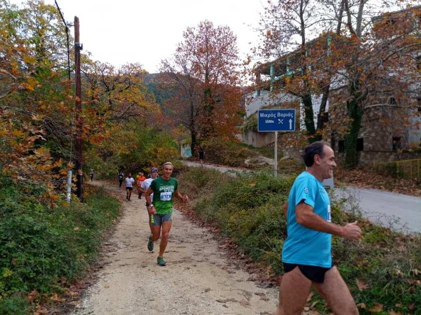 Εκατοντάδες συμμετοχές για τον ορεινό υπερμαραθώνιο στο Πήλιο (photos)