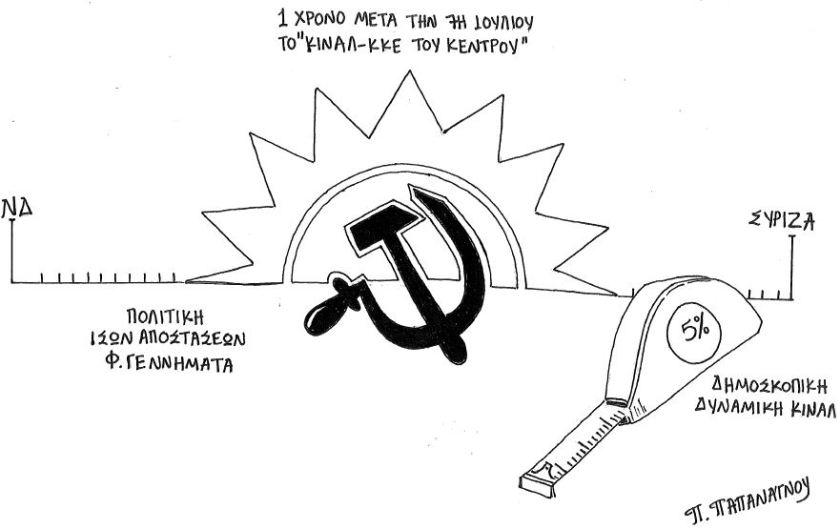 Ένα χρόνο μετά: Η ανάποδη ανάγνωση της «Αριστεράς», η ανέξοδη μεγαλοκαρδία της Δεξιάς και η εξαΰλωση του ΚΙΝΑΛ στη μέση