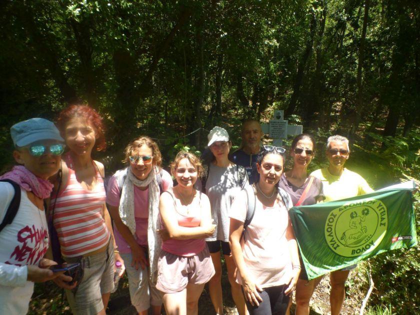 Τίμησαν τη μνήμη του Δ. Κοντογιάννη – Πορεία διοργάνωσε στο Πήλιο ο Σύλλογος Δρομέων Υγείας Βόλου
