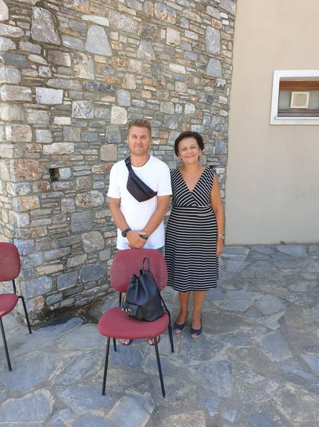 Mε τον δήμαρχο Αλοννήσου συναντήθηκε η Μαρίνα Χρυσοβελώνη