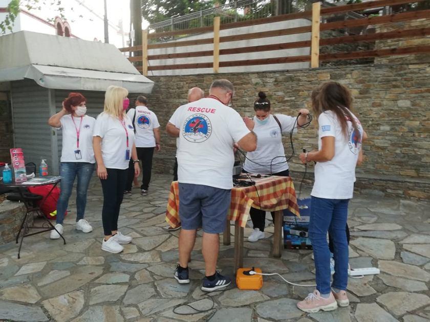 Ημερίδες για τις Πρώτες Βοήθειες από την Ελληνική Ομάδα Διάσωσης Μαγνησίας