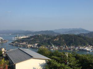 尾道公園展望台からの眺め
