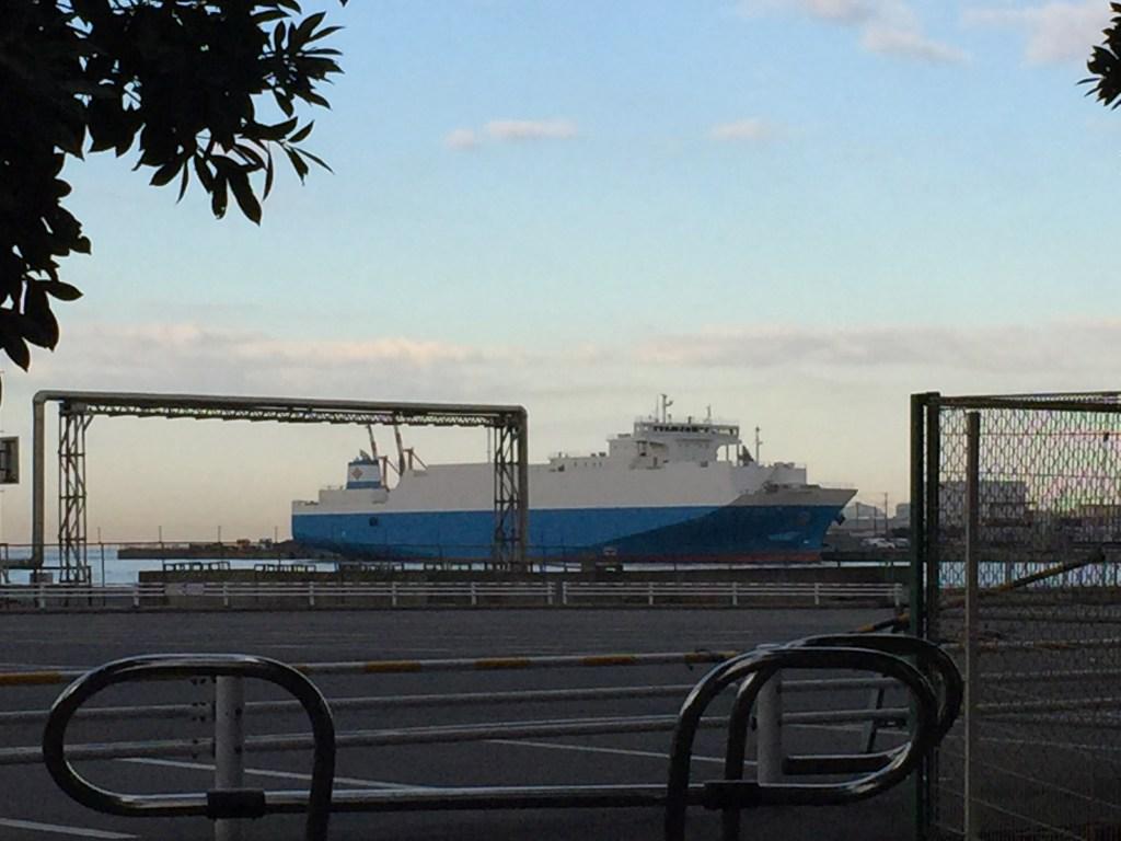 千葉港の大きな船