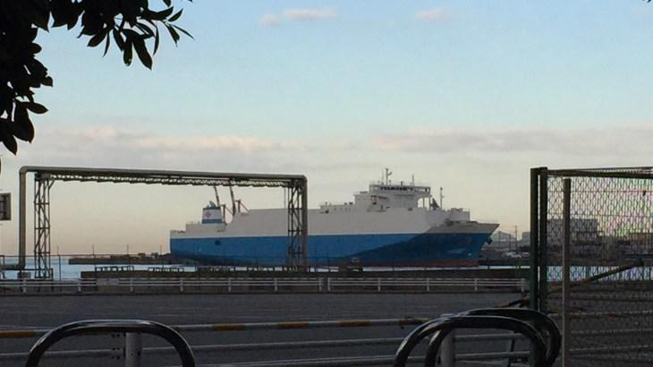 千葉港にいた大きなお船
