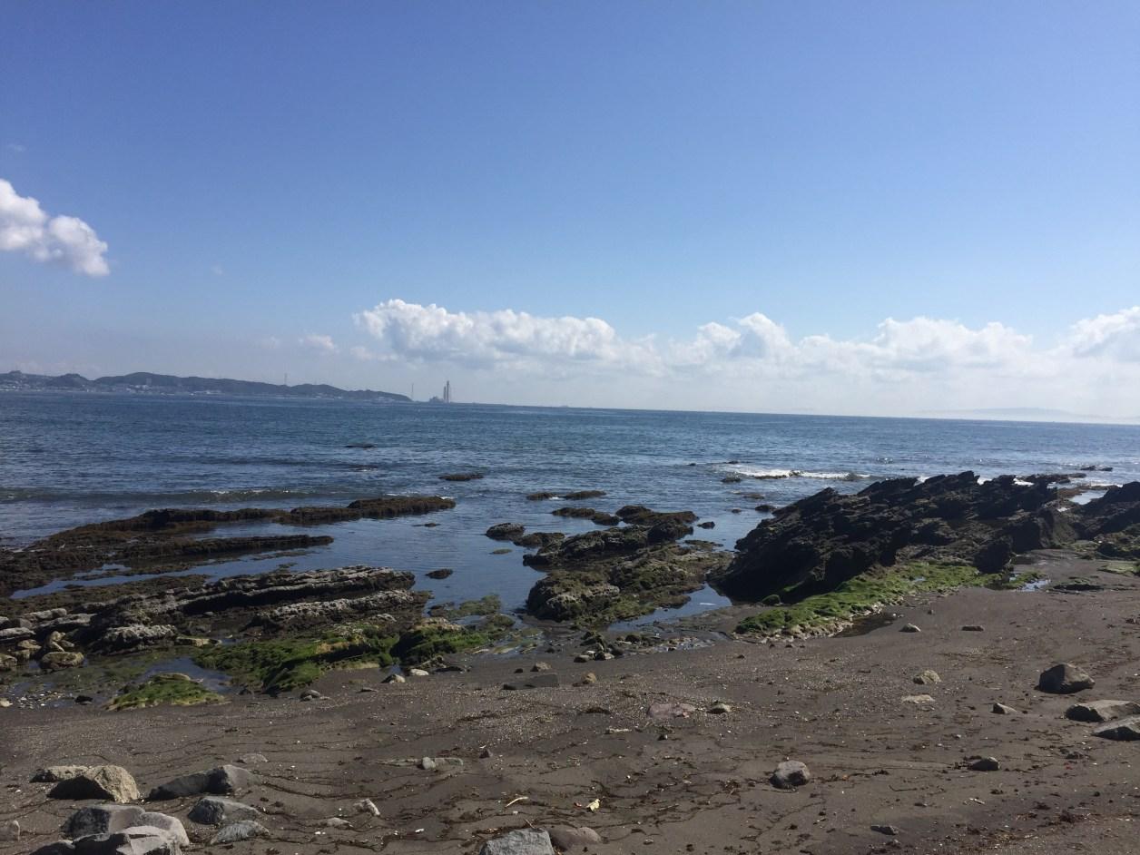 小浜の岩礁