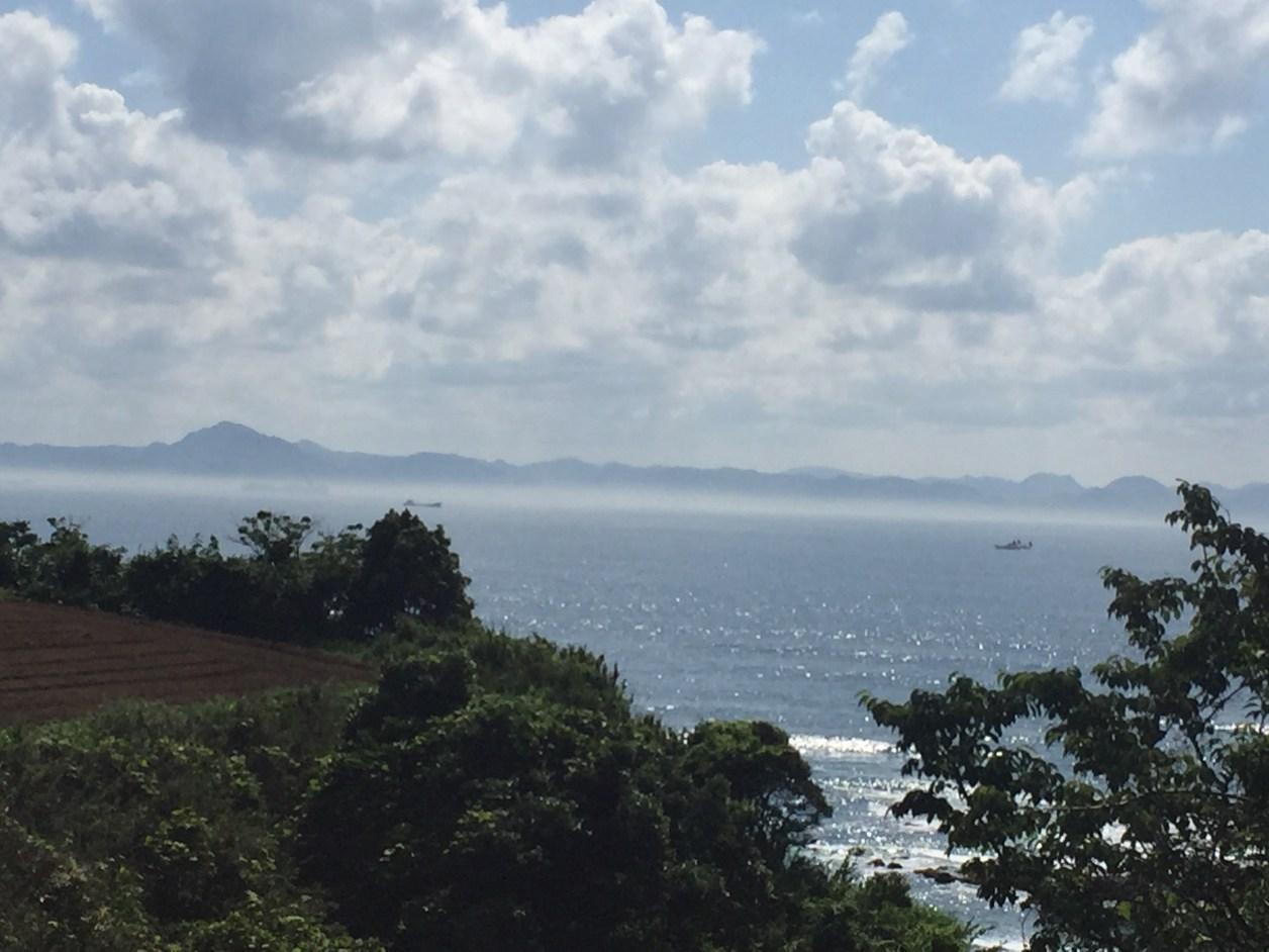 三浦半島、雨崎海岸