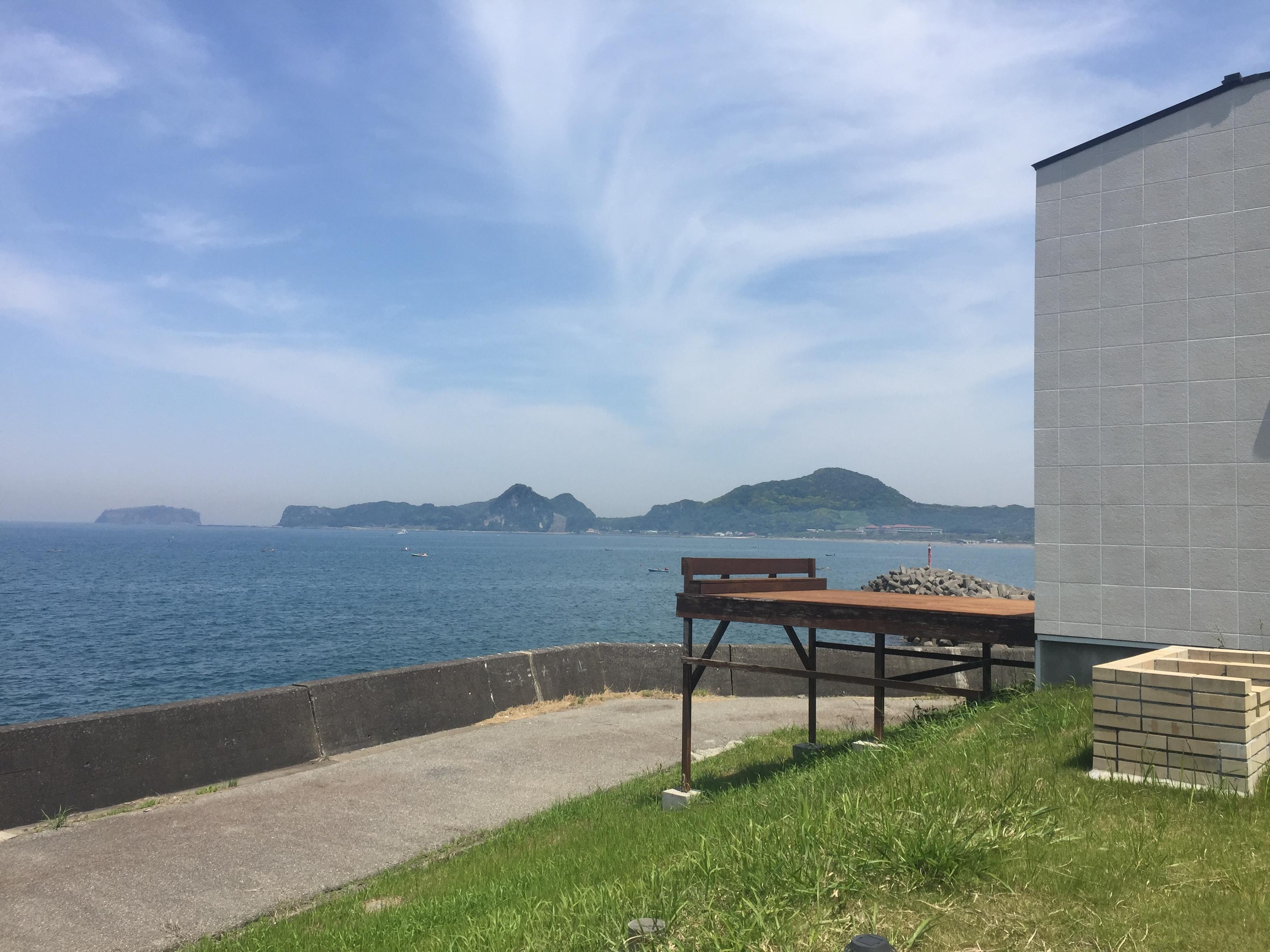 岩井海岸の別荘地