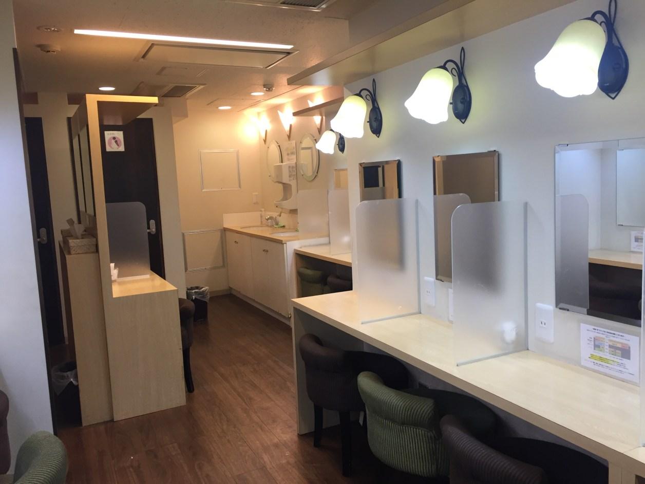新宿VIPラウンジ女性スペース