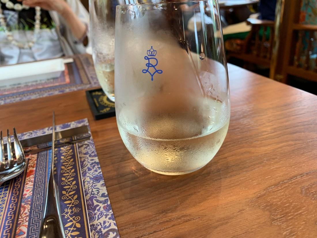 ロイヤルエクスプレスランチの日本酒