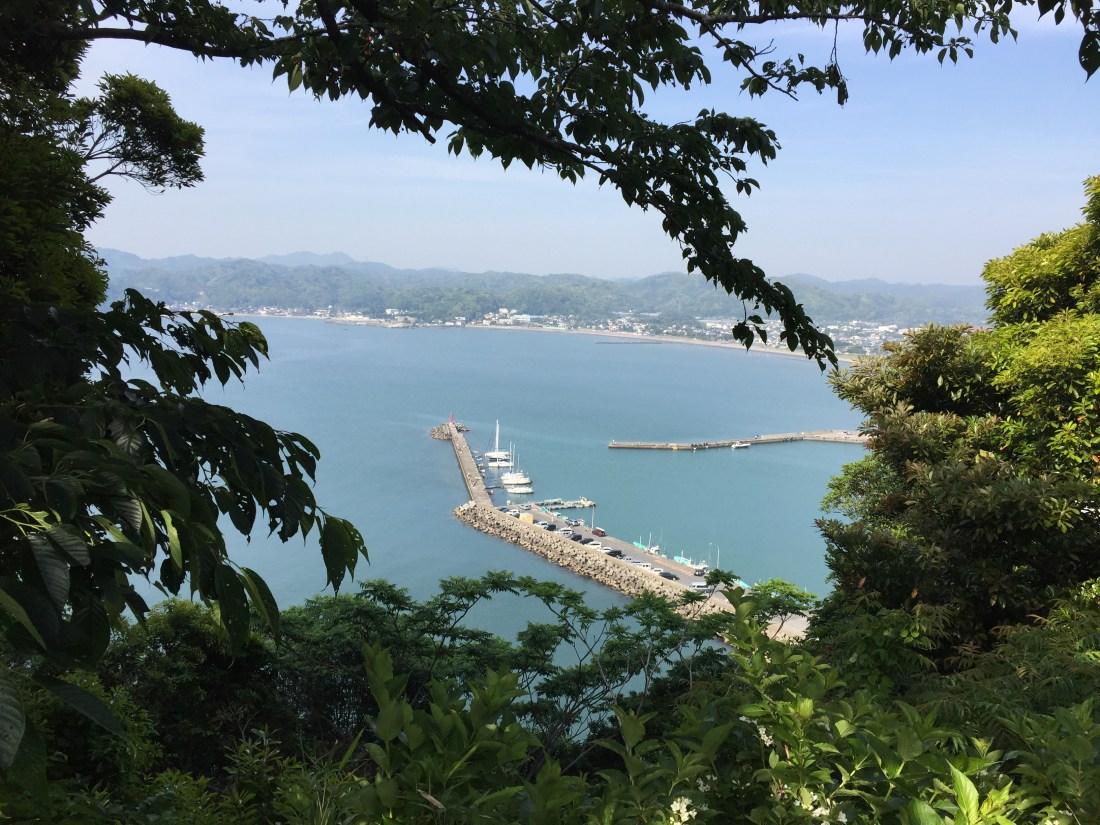 大房岬からの眺め