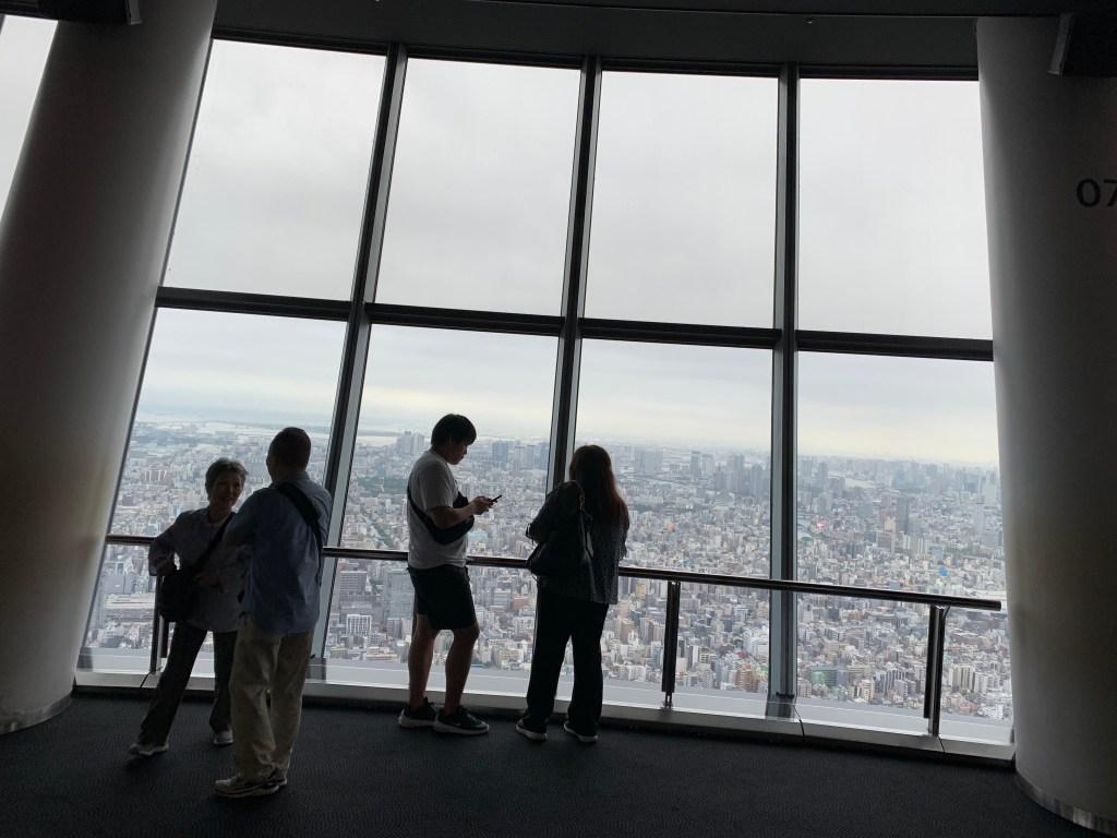 東京スカイツリー展望台
