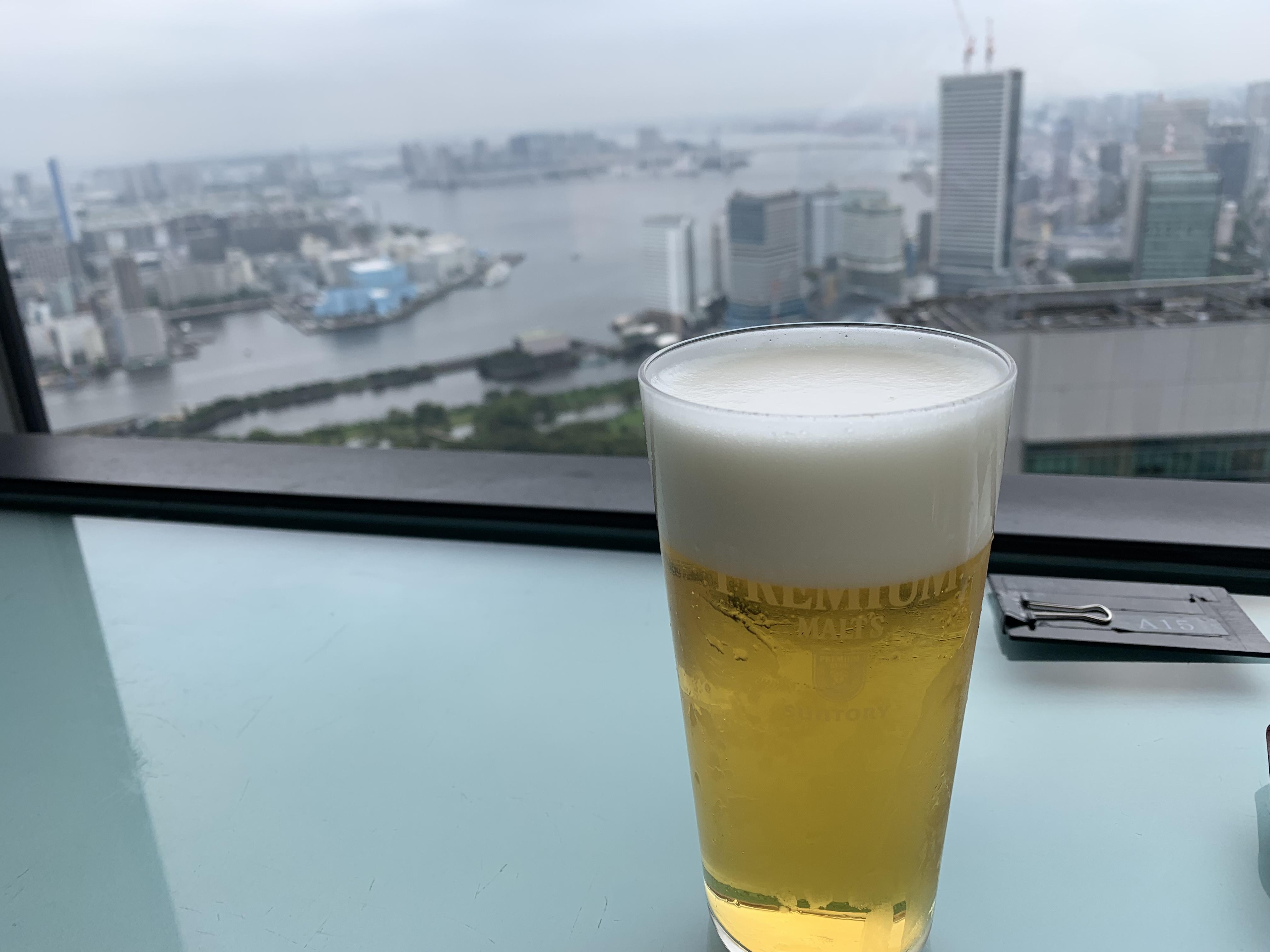 響カレッタ汐留からの眺め