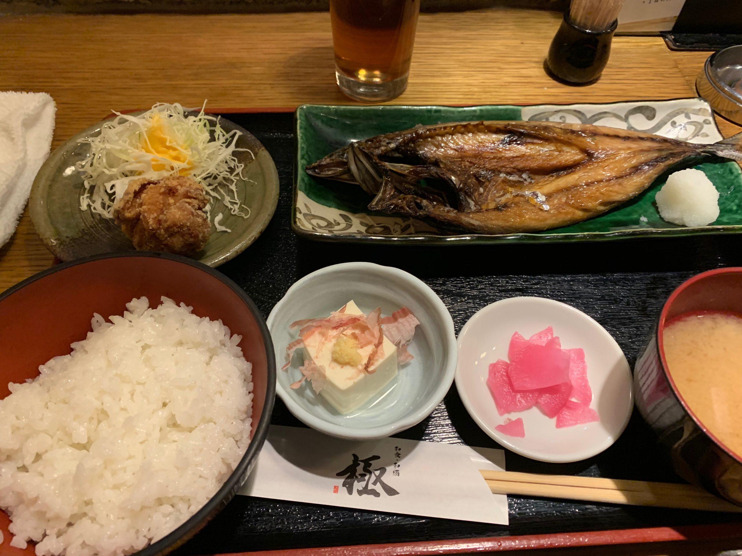 金華サバ焼き定食