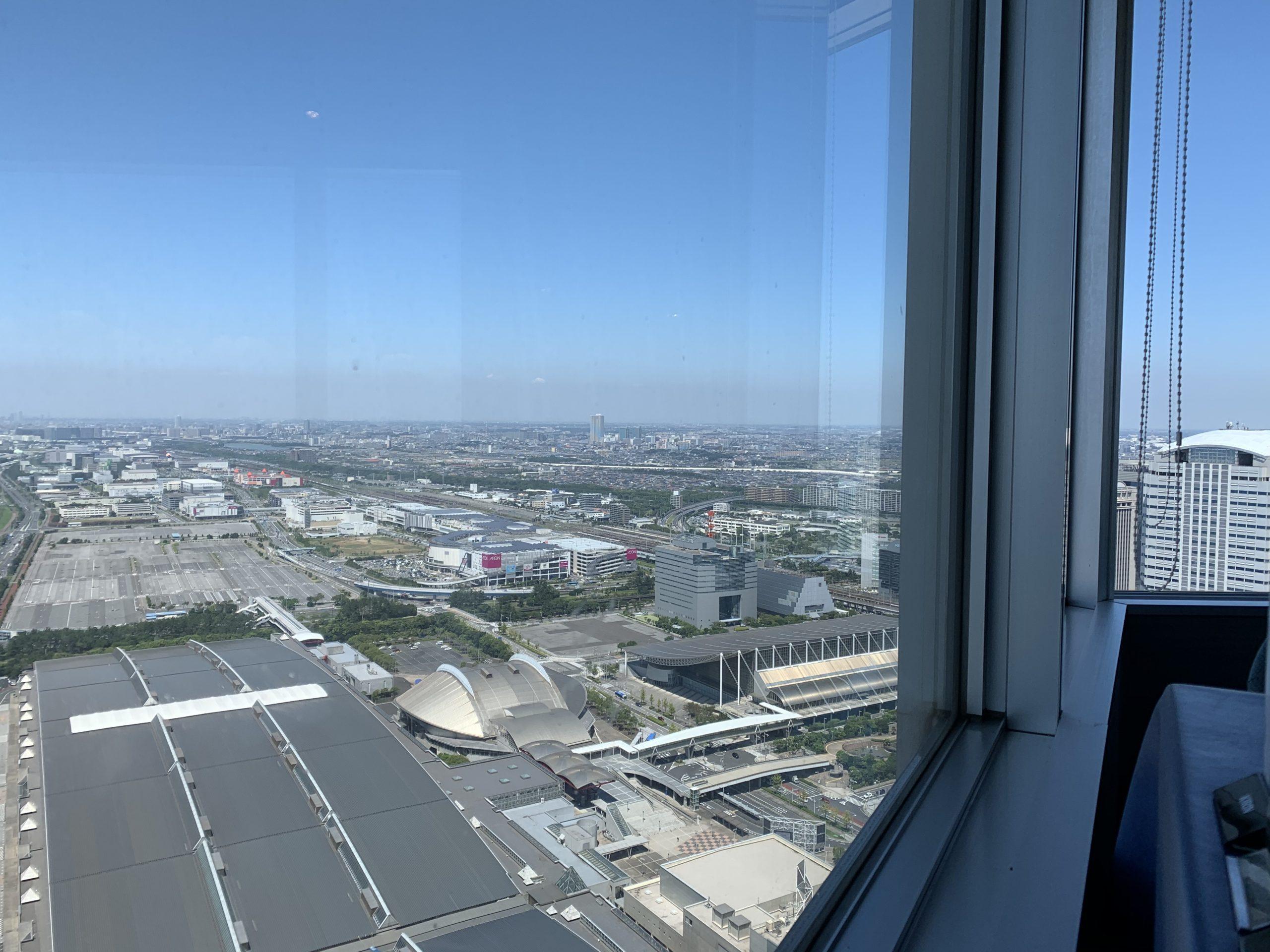 アパホテルランチバイキング眺望