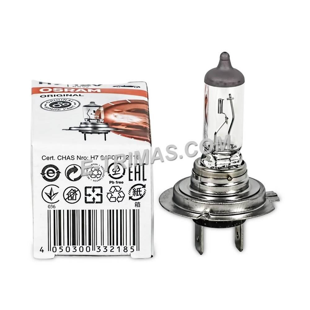 64210 Osram Germany H7 Halogen Head Light Bulb 3200K