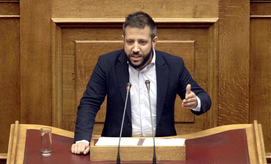 ΒΙΝΤΕΟ: Τα πήρε στο κρανίο και αντέδρασε ο Μεϊκόπουλος στη Βουλή - Τί είπε στην Αχτσιόγλου για την ανεργία στο Βόλο και στην Μαγνησία...