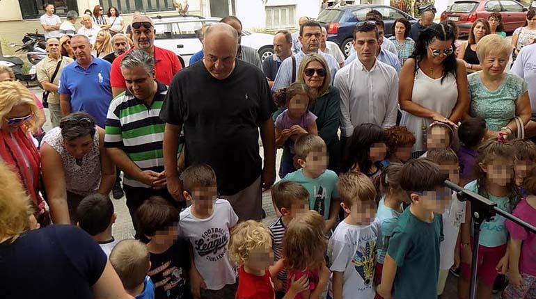 Ο δήμαρχος Μπέος εγκαινίασε το νέο σύγχρονο 11ο Νηπιαγωγείο Βόλου