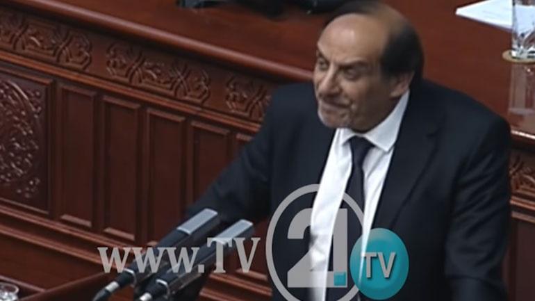 Σκοπιανός βουλευτής ευχαρίστησε στα ελληνικά τον Αλέξη Τσίπρα