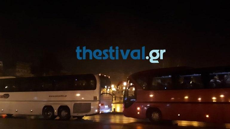 Αναχώρησαν τα πρώτα λεωφορεία για το συλλαλητήριο στο Σύνταγμα