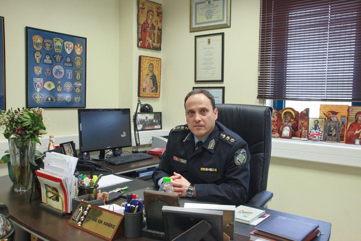 Ο Βασίλης Καραΐσκος νέος Διευθυντής της Αστυνομίας στην Μαγνησία