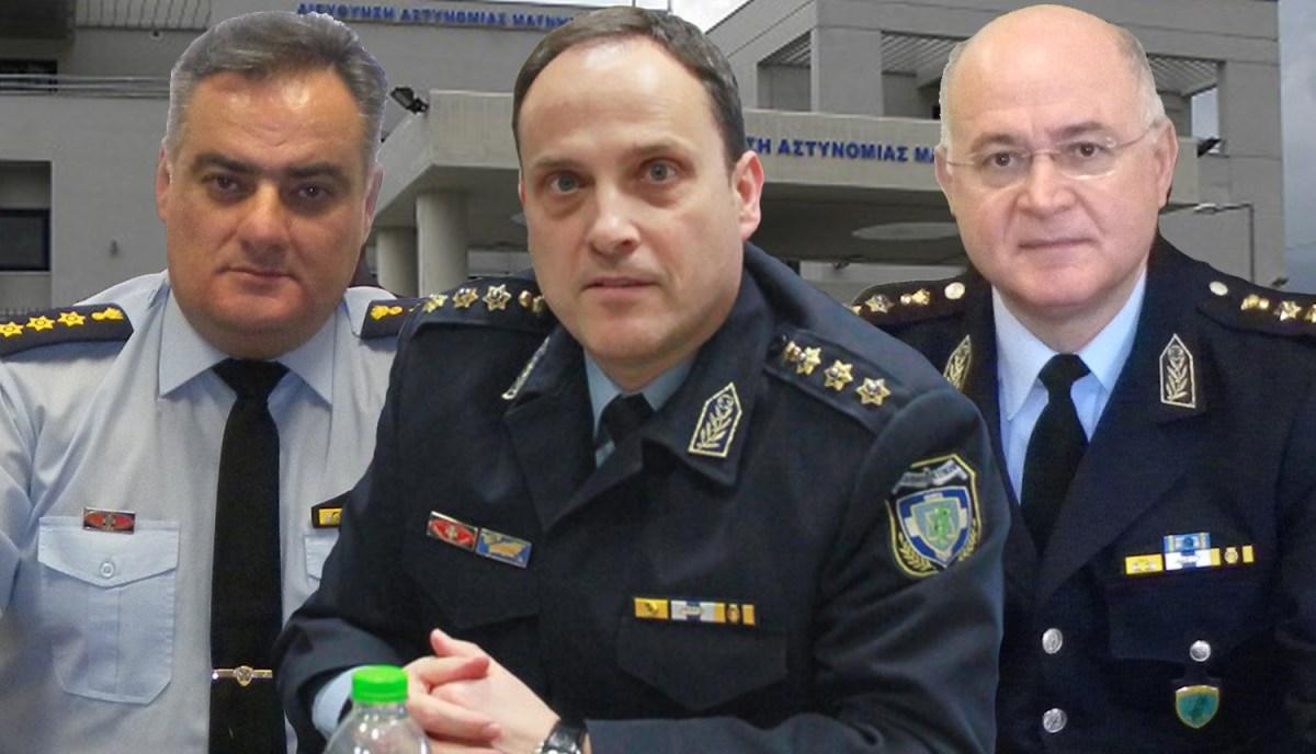 Νέος άνεμος στη Διεύθυνση Αστυνομίας Μαγνησίας - Ποιοί είναι οι Αξιωματικοί Καραΐσκος, Αλεξάκης και Καλαμπόκας