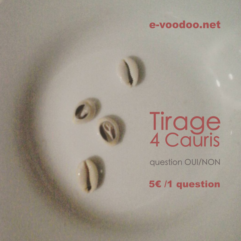 tirage cauris 1 question